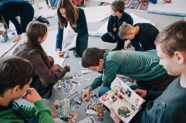 Дети в городе. Харьков. Тренинги лидерства и семинары по эйдетике